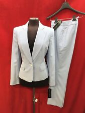 """ALBERT NIPON PANT SUIT/SEER SUCKER/NEW WITH TAG/INSEAM32""""/SIZE 14/RETAIL$280"""