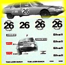 1:87 Tatuajes - Citroen SM Maserati-Spa 24 Hours 1971 - de Jamblinne /Bagrit #26
