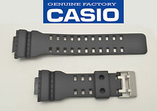 Casio Genuine 22 mm Watch Band Rubber Strap Greyish Black G-Shock GA-110C-1A