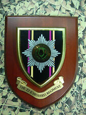 Regimental Plaque / Shield - The Cheshire Regiment
