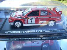 MITSUBISHI LANCER EVO-RALLY DE PORTUGAL 2001-T.MAKINEN-R.MANNISENMAKI SCALA 143