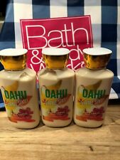 BATH & AND BODY WORKS OAHU COCONUT SUNSET SHEA BODY LOTION LOT OF 3 NEW