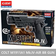 ACADEMY Colt M1911A1 Mark IV Airsoft BB Toy Gun 6mm / 20mm Rail Interface System