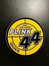 Glock Plink 44 Sticker Decal Firearm Shooting New Gun 2020 Shot Show Vegas