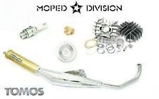 Tomos A55 70cc Airsal Cylinder & Biturbo Exhaust Kit Streetmate, Revival, Arrow