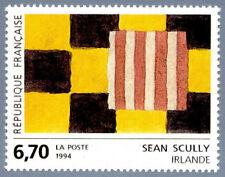 Timbre France Y&T 2858 Neuf** - Œuvre originale de Sean Scully (Irlande) - 1994