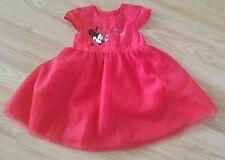 Disney red dress for girl 6-9 months