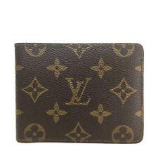 100% Authentic Louis Vuitton Monogram Multiple Bifold Wallet /ee581
