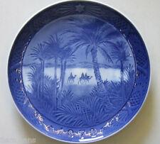 """Royal Copenhagen Christmas Plate 1972 """"In The Desert"""" 1st Quality"""