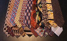 Lot of 20 NEW Designer Neck Ties with Various Patterns L033