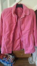 ladies pink new look coat size 12