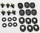 US lift the dot lift a dot fastener black 6 Complete sets Lot of 24pcs  E9790