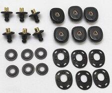 US lift the dot lift a dot fastener black 6 Complete sets Lot of 24pcs  E9790