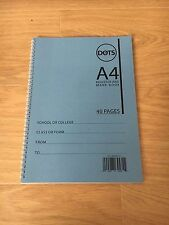 School Attendance Register, Mark Book 50 Names 40 pages 112 Weeks per Book Blue