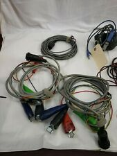 MISC HIGH VOLTAGE TEST & COMMUNICATIONS CABLES-WITH BAG AS PICTURED