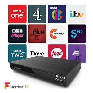 Humax HDR-1800T Freeview+ HD 320GB Smart Digital TV Recorder Twin Tuner