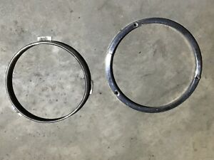 1956 Lincoln Premiere Head Light Trim Rings