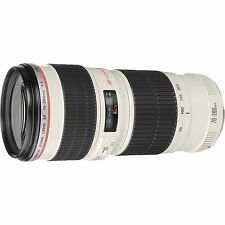 New Canon USM Zoom Telephoto EF 70-200mm f/4L Lens