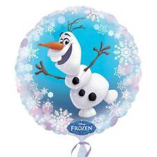 Disney Frozen Fête D'Anniversaire Olaf 43.2cm Ballon Aluminium Rond