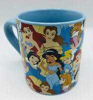 ☕️ New Disney Princess Collage 20 oz Ceramic Coffee Cup Cinderella Snow White ☕️