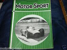 Juan Manuel Fangio Homenaje 1956 ganador del mundo F1 champpionship 1957 Motorsport