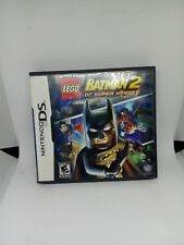 Lego Batman 2 Dc Super Heroes Nintendo DS Replacement Case And Manual Only
