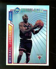 1996-97 Topps Mystery Finest Refractor Michael Jordan Chicago Bulls HOF