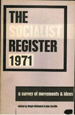 Socialist Register 1971 [Paperback] Miliband, Ralph; Saville, J.