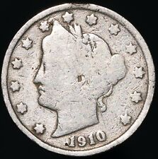 More details for 1910 | u.s.a. liberty nickel 5 cents | cupro-nickel | coins | km coins