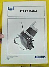Ancien Document Catalogue Fascicules Vintage LTS Portable PHILIPS 1970