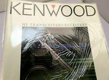 Kenwood HF Receiver Transceiver ELECTRONICS SALES BROCHURE Price List 1993 1995