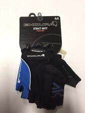 Endura Xtract Mitt Men's Cycling Gloves Size Medium, Black/Blue