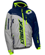 Castle X Snow Jacket Men's Stance Jacket Silv/Navy/Hi Vis @ 30% OFF!!