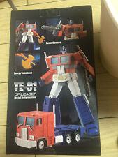 IN STOCK New Transform Element TE01 TE-01 Optimus OP Commander Action Figure