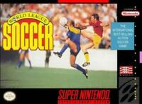 World League Soccer Super Nintendo Game SNES Used