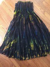 NWOT Black Tie Dye Bubble Dress / Skirt One Size 100% Rayon