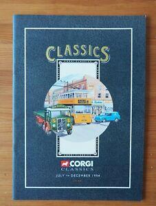 Toy  Corgi Classics Brochure July - December 1994