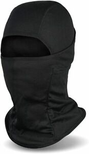 Balaclava Face Mask UV Protection Ski Sun Hood Tactical Mask for Men Women Black
