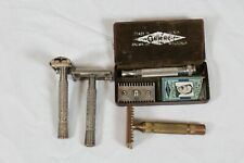 Vintage Lot Of 4 Gillette Shaving Razor
