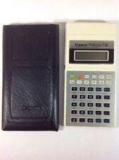 Canon Palmtronic F-64 Scientific/ Statistical Calculator - Vintage - Collectable