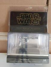 Star Wars Han Solo Blaster Episode V ESB Silver 0.33 Scale Master Replicas BNIB
