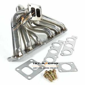 Turbo Exhaust Manifold Header Fit Toyota Supra MK4 Lexus SC300 IS300 2JZ-GE