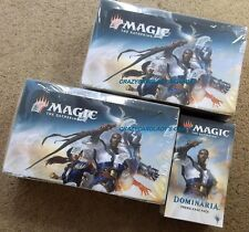 MAGIC THE GATHERING DOMINARIA BOOSTER 2 BOX & PRERELEASE KIT LOT FREE SHIPPING