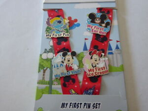 Disney Trading Pins Mickey Mouse and Friends ''My First'' Pin trading Starter S