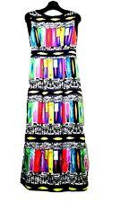 Geometrical Printed Maxi Dress