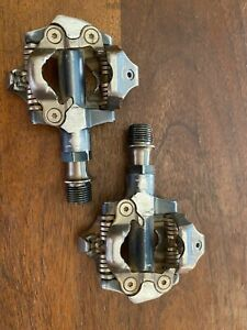 Shimano XTR PD-M9000 Clipless Pedals Pair Race Mountain Bike
