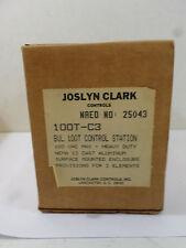 New Surplus Joslyn Clark 100T-C3 Control Station 600V Max