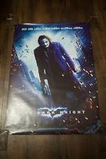 "BATMAN DARK KNIGHT JOKER 27"" x 40"" Rolled US One Sheet Movie Poster Reprint 2008"