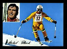 Herbert Plank AUTOGRAPHE CARTE Ski Alpin + A 166342 D