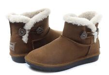 Skechers Australia 'Shelbys Ottawa' womens boots UK size 7 REAL SUEDE BNIB
